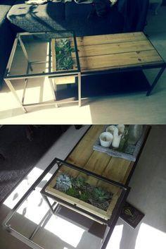 vittsj ikea hack me encanta deco hacks pinterest wohn esszimmer couchtische und. Black Bedroom Furniture Sets. Home Design Ideas