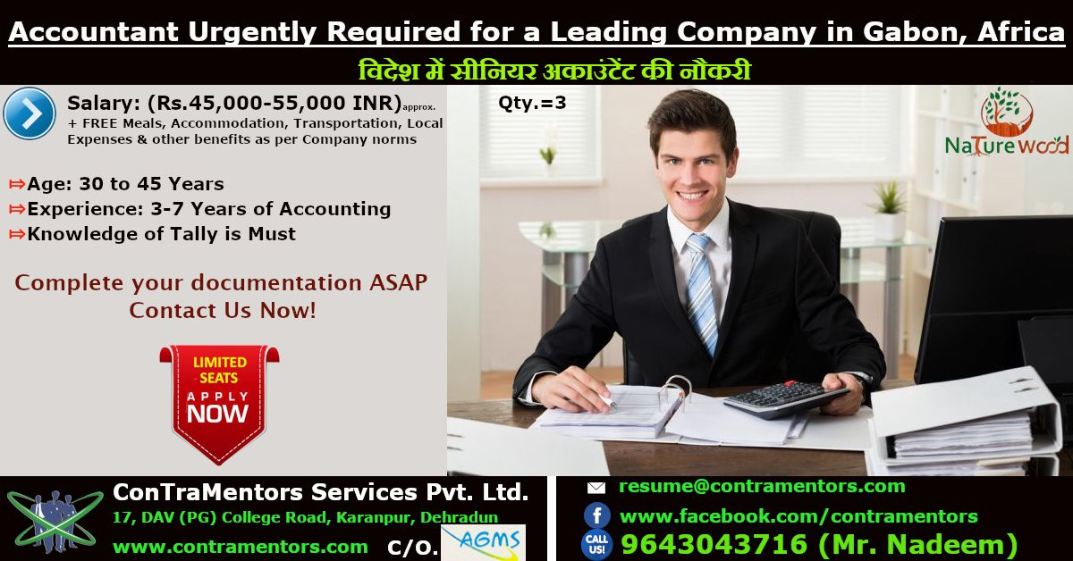 Accountant Jobs Abroad Accounting jobs, Overseas jobs