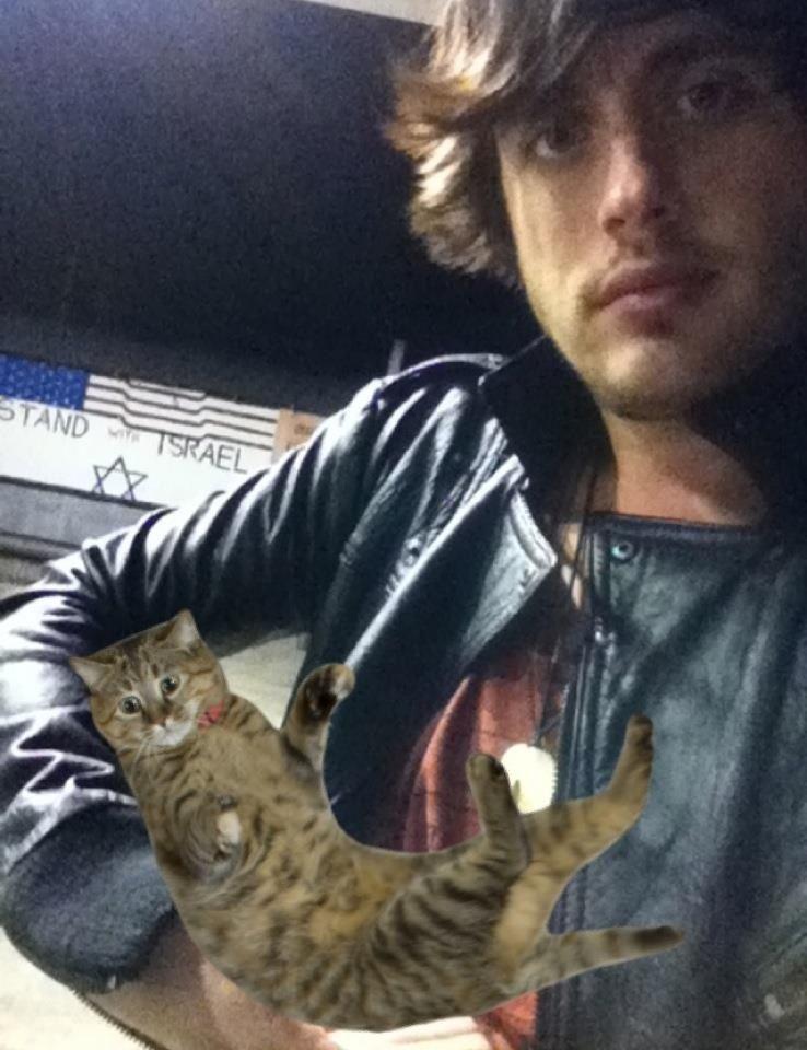 Will Anderson's cat.. Eric ;) hahaha