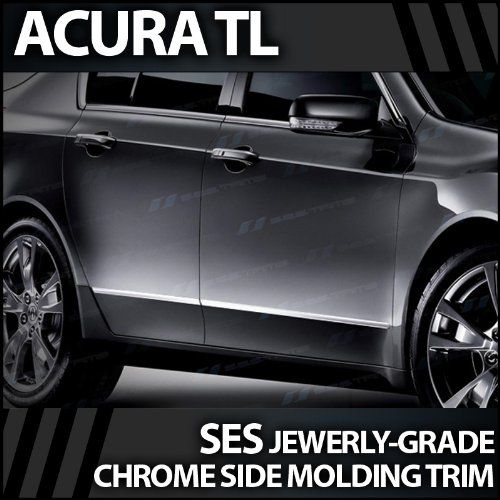 2010-2012 Acura TL SES Chrome Door Molding Trim This Part