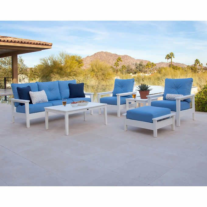 Prescott 6-piece Deep Seating Set | Deep seating, Patio ...