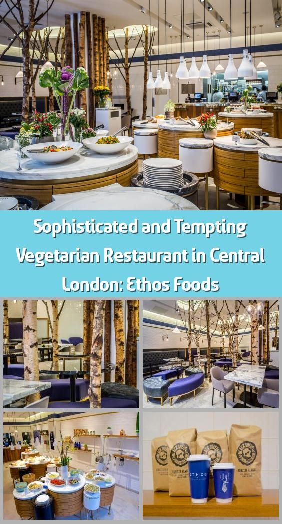 Sophisticated and Tempting Vegetarian Restaurant in