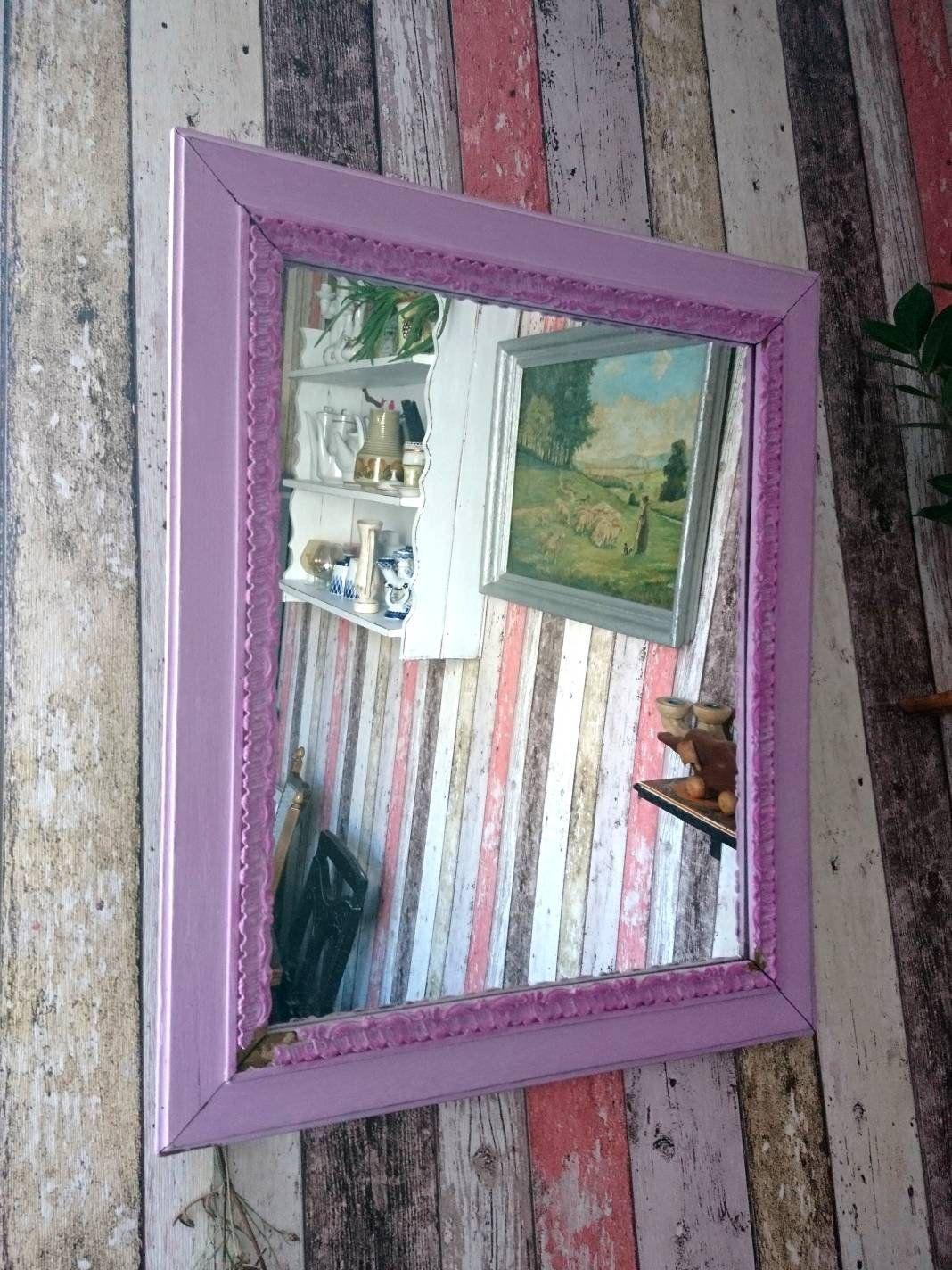 Shabby Chic Alter Spiegel Wandspiegel Landhaus Romantisch Mirror