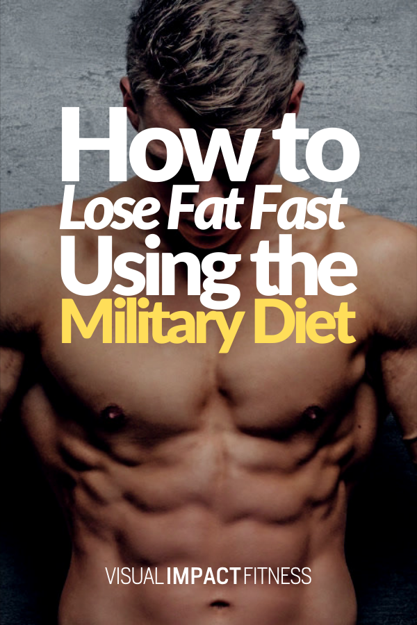 The Military Diet Plan