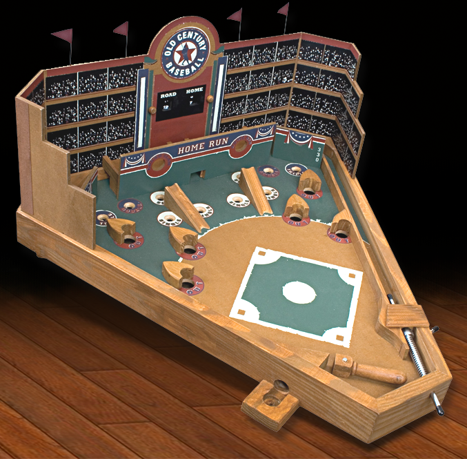 A Baseball Themed Pinball Machine Perfect For Syracuse Chiefs Bedroom Or Game Room