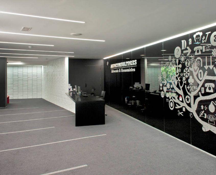 Iluminación de oficinas Barcelona