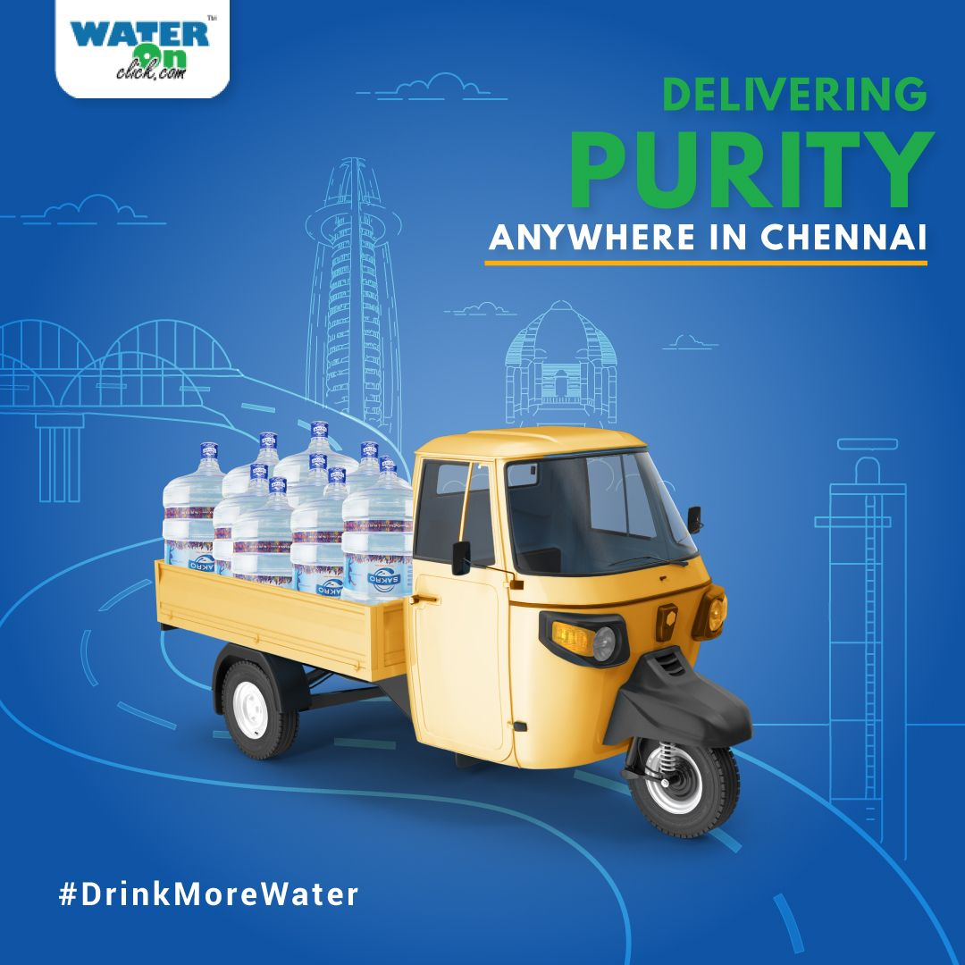 Bringing you the fastest mineralwater delivery system in