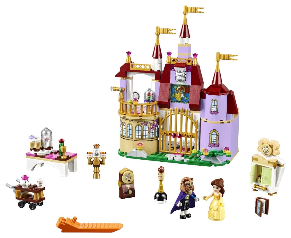 16.85$  Watch here - http://aliy4r.shopchina.info/go.php?t=32788423995 - 37001 Princess Belles Enchanted Castle Building Blocks For Girl Kids Model Toys blocks Compatible with lepin Friends 41067 16.85$ #bestbuy