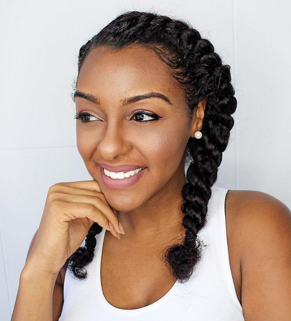 60 easy and showy protective hairstyles for natural hair