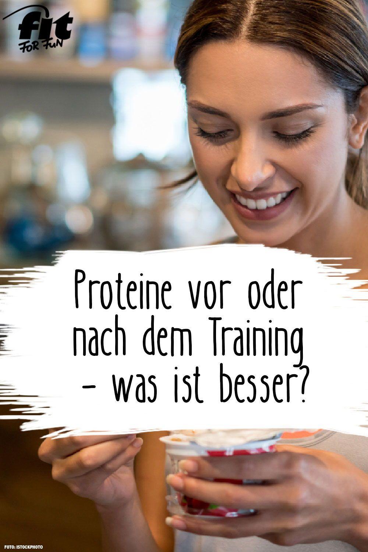 Proteine Nach Dem Training