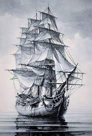 Barco De Madera Dibujo
