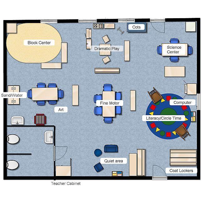 Classroom Floorplanner Preschool Classroom Layout Preschool Layout Preschool Classroom Setup