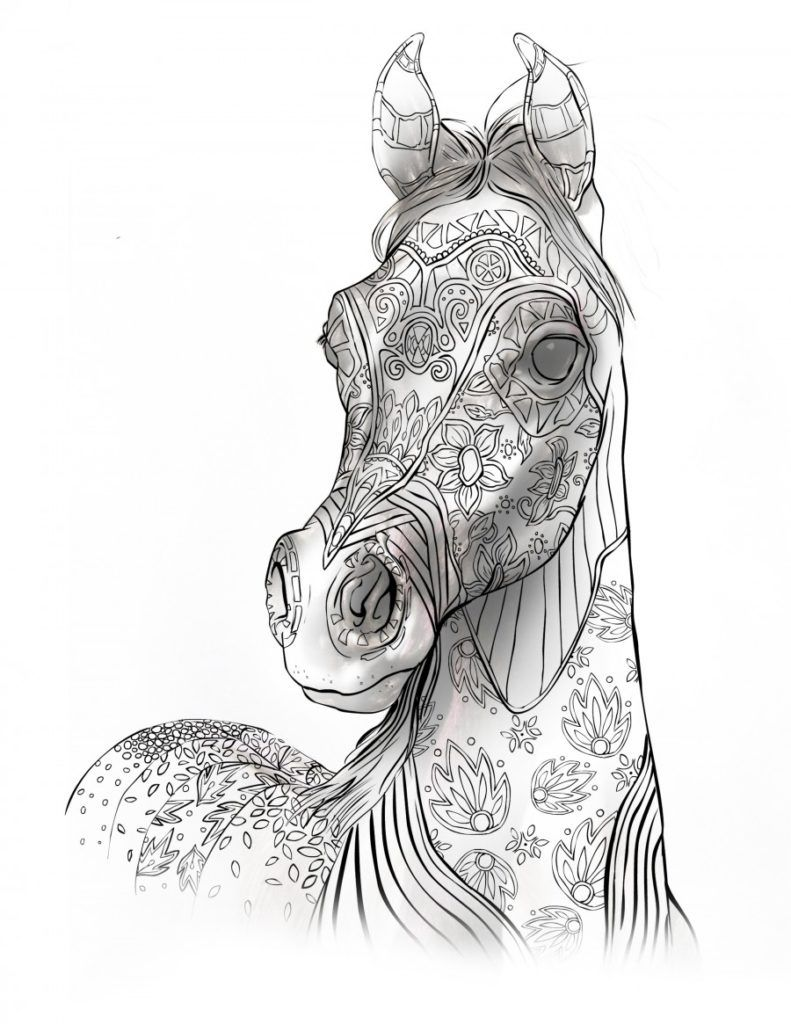 Unauthorized Access Horse Coloring Pages Animal Coloring Pages Horse Coloring Books [ 1024 x 791 Pixel ]