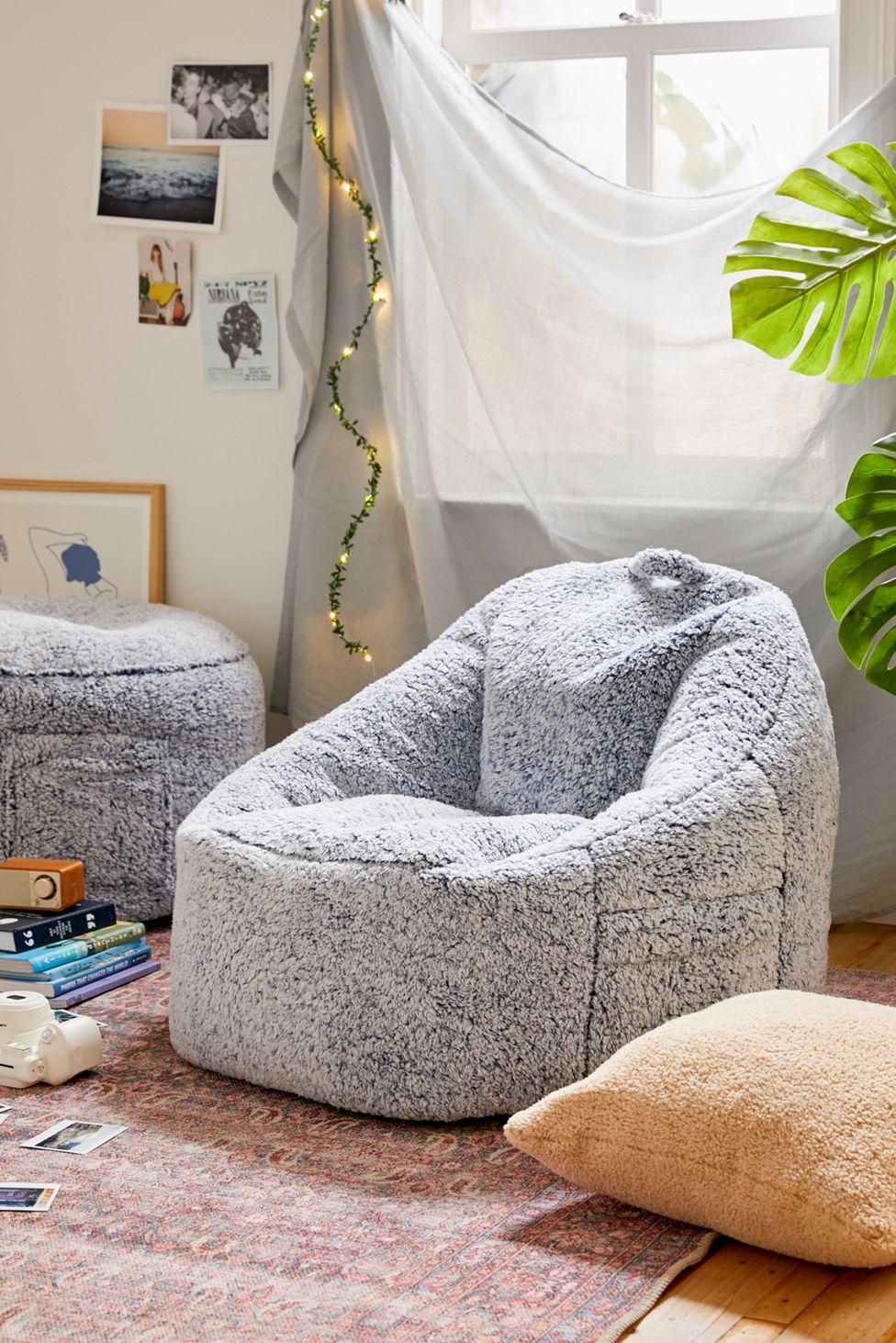 Amped Fleece Bean Bag Chair | Bean bag chair, Bean bag ...