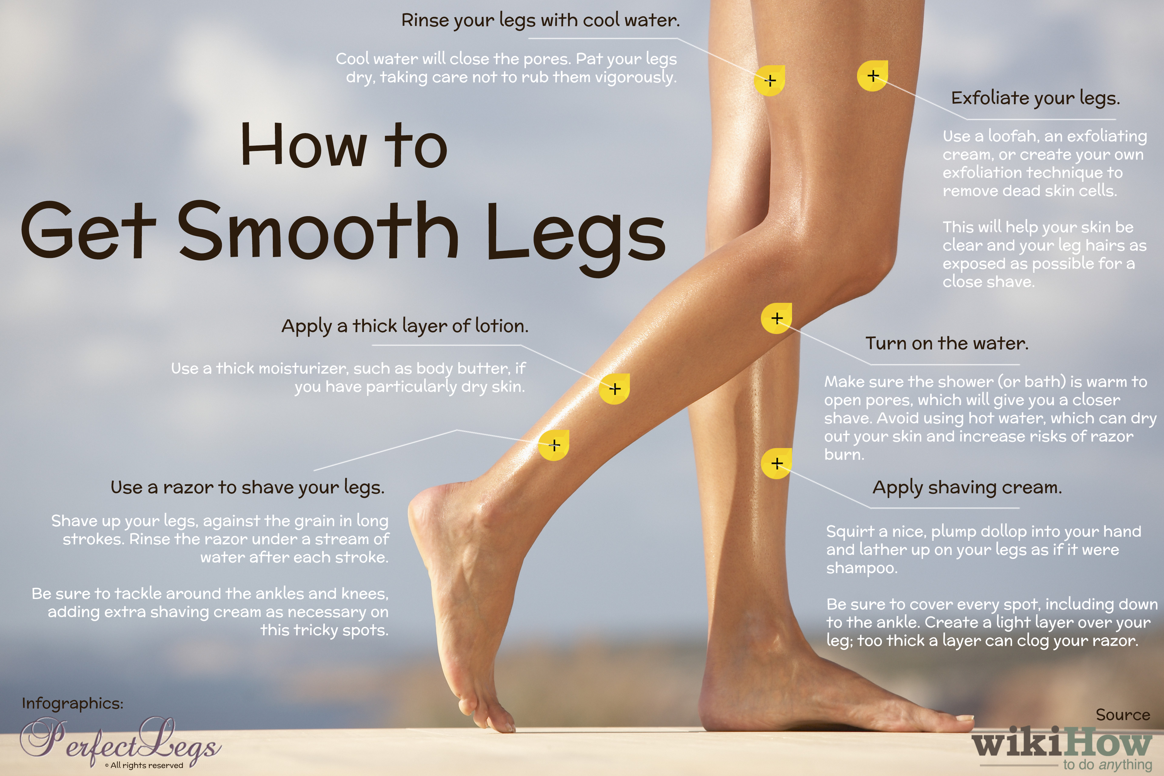 How to Get Smooth Legs in 8 Steps  Smooth shaved legs, Smooth
