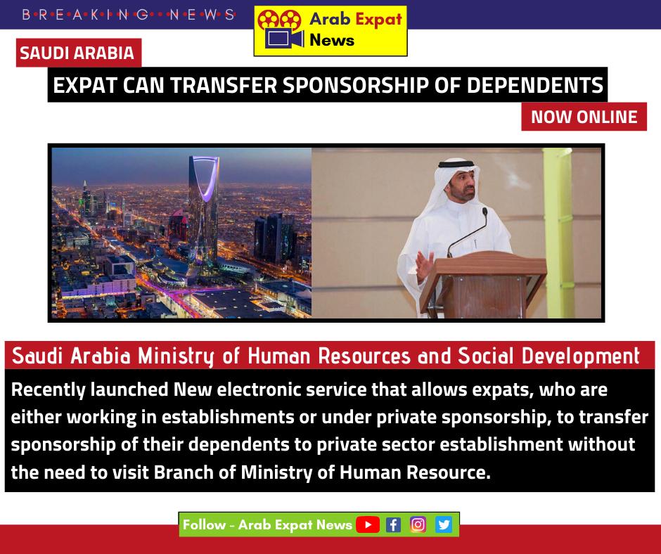 Saudi Arabia Sponsorship Transfer Now Online Social Development Sponsorship Online