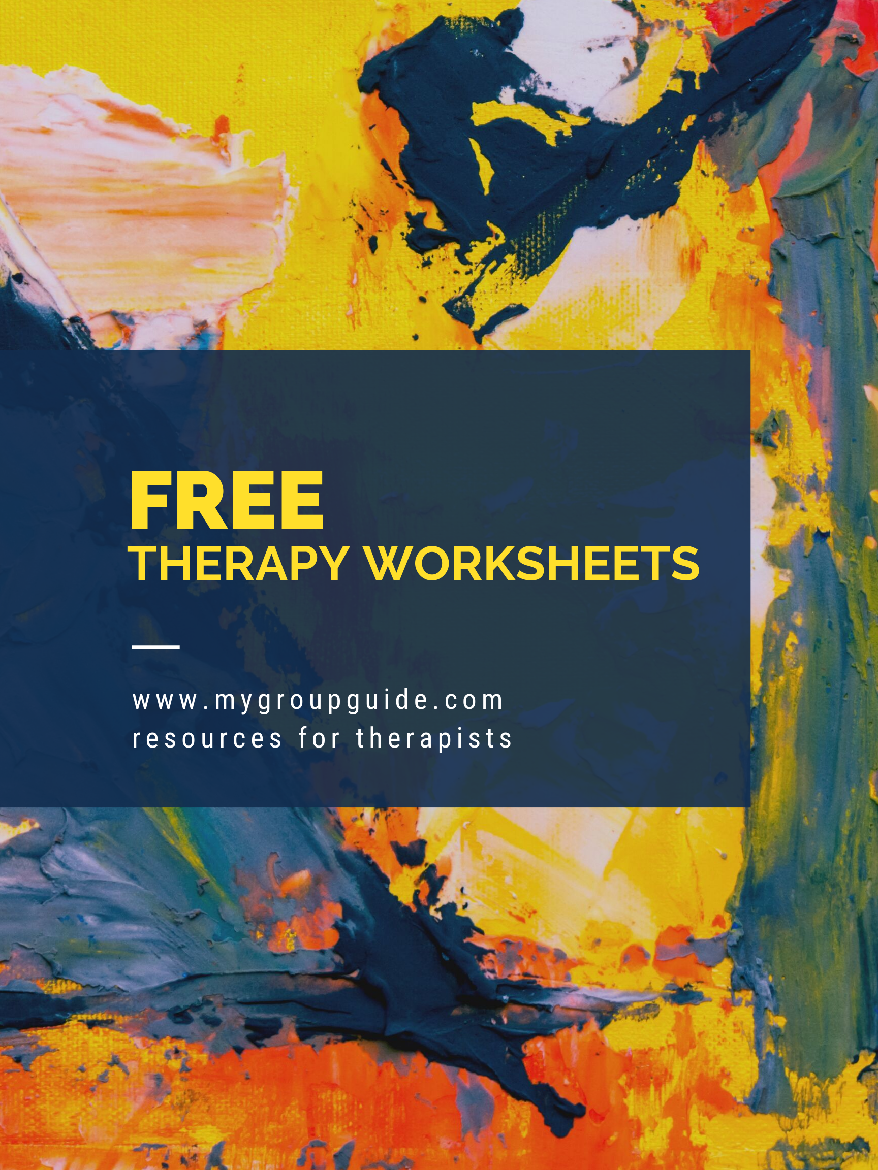 Free Therapy Worksheets With Images