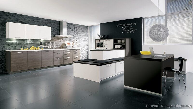 Kitchen Idea of the Day European Kitchen Cabinets (By ALNO, AG