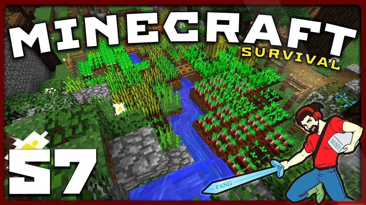 Minecraft Survival THE LAZY FARMER! [S01E57] Vanilla