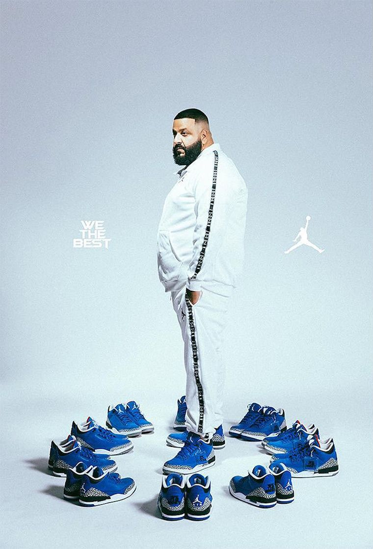 008ef044028 DJ Khaled x Air Jordan 3 Father of Asahd And Another One | Music in ...