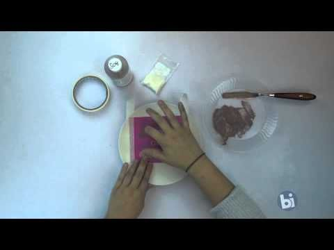 How to Silk Screen on Flat Bisque - YouTube