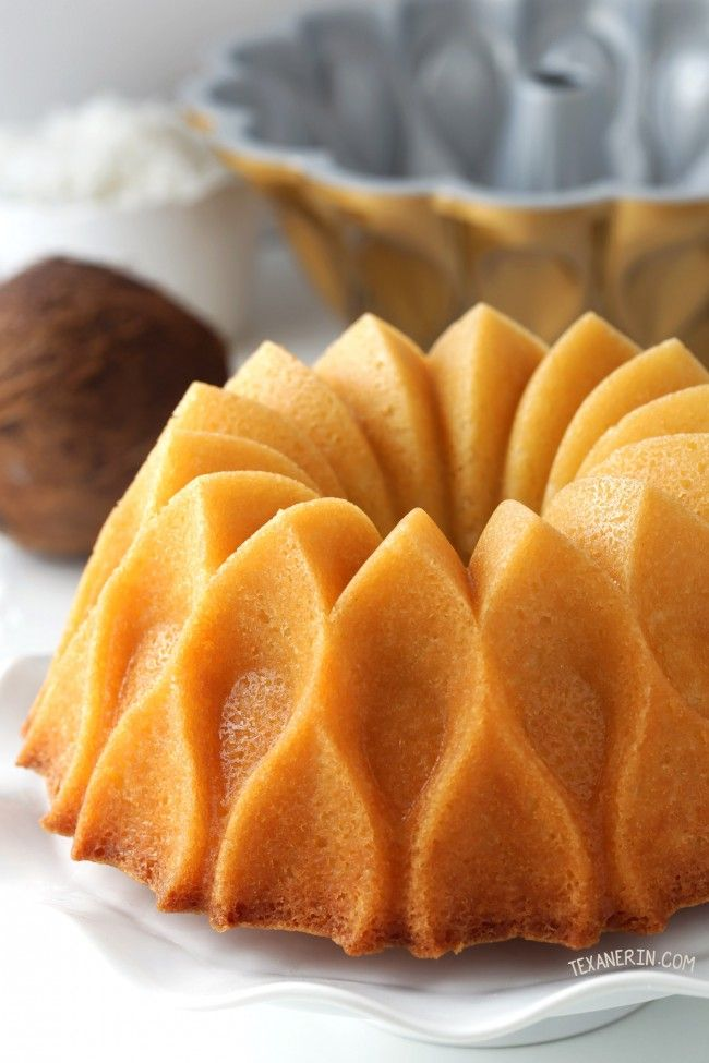 Coconut Rum Bundt Cake Drenched In Coconut Rum Syrup Can Be Made