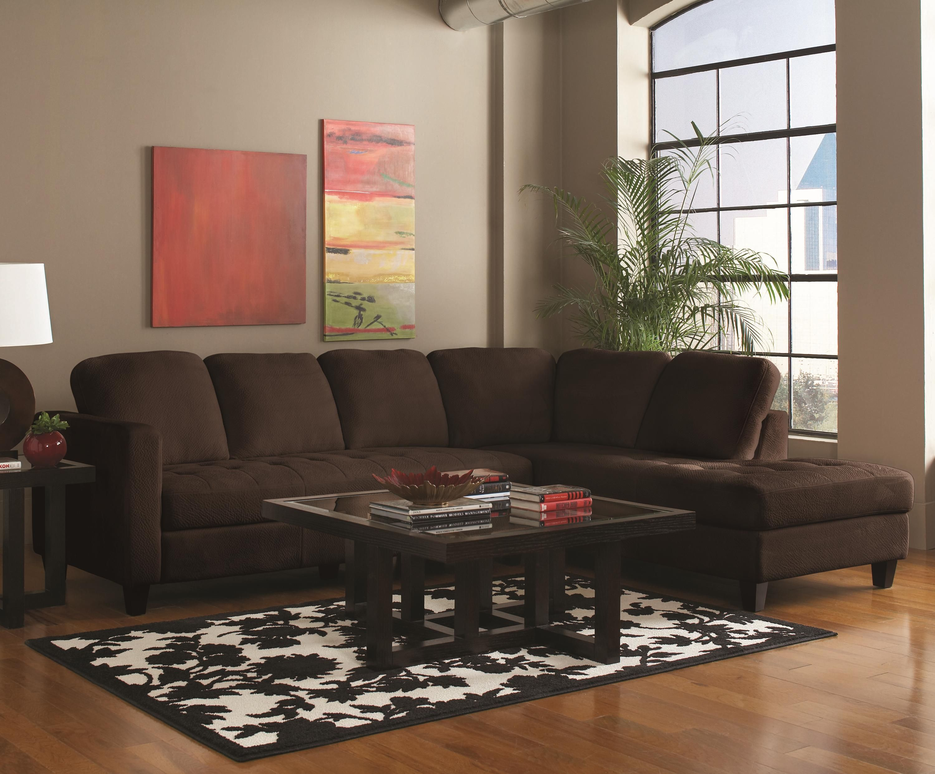 Walker Sectional By Coaster Furniture