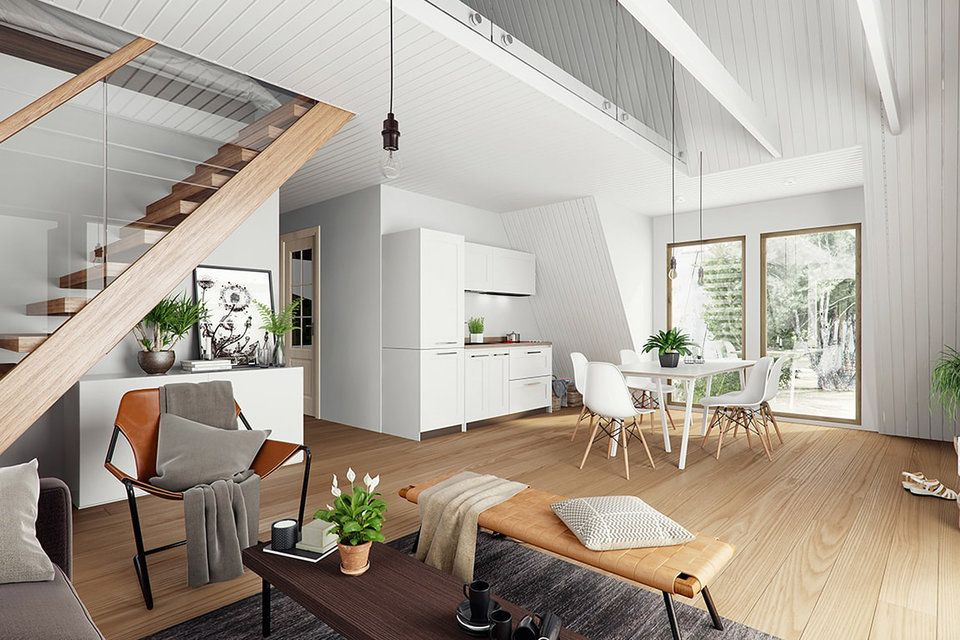 Avrame A-Frame Kit Homes | Normandy, Swings and Modern