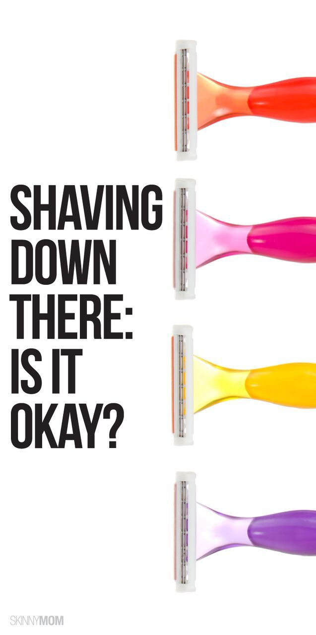 Are you supposed to shave your pubic area