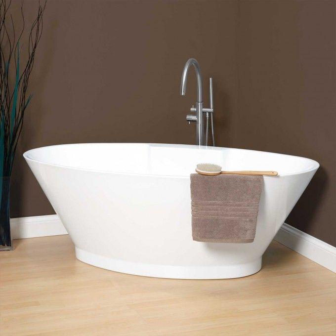 "67"" Corrine Acrylic Freestanding Air Tub - Bathroom   Free ..."