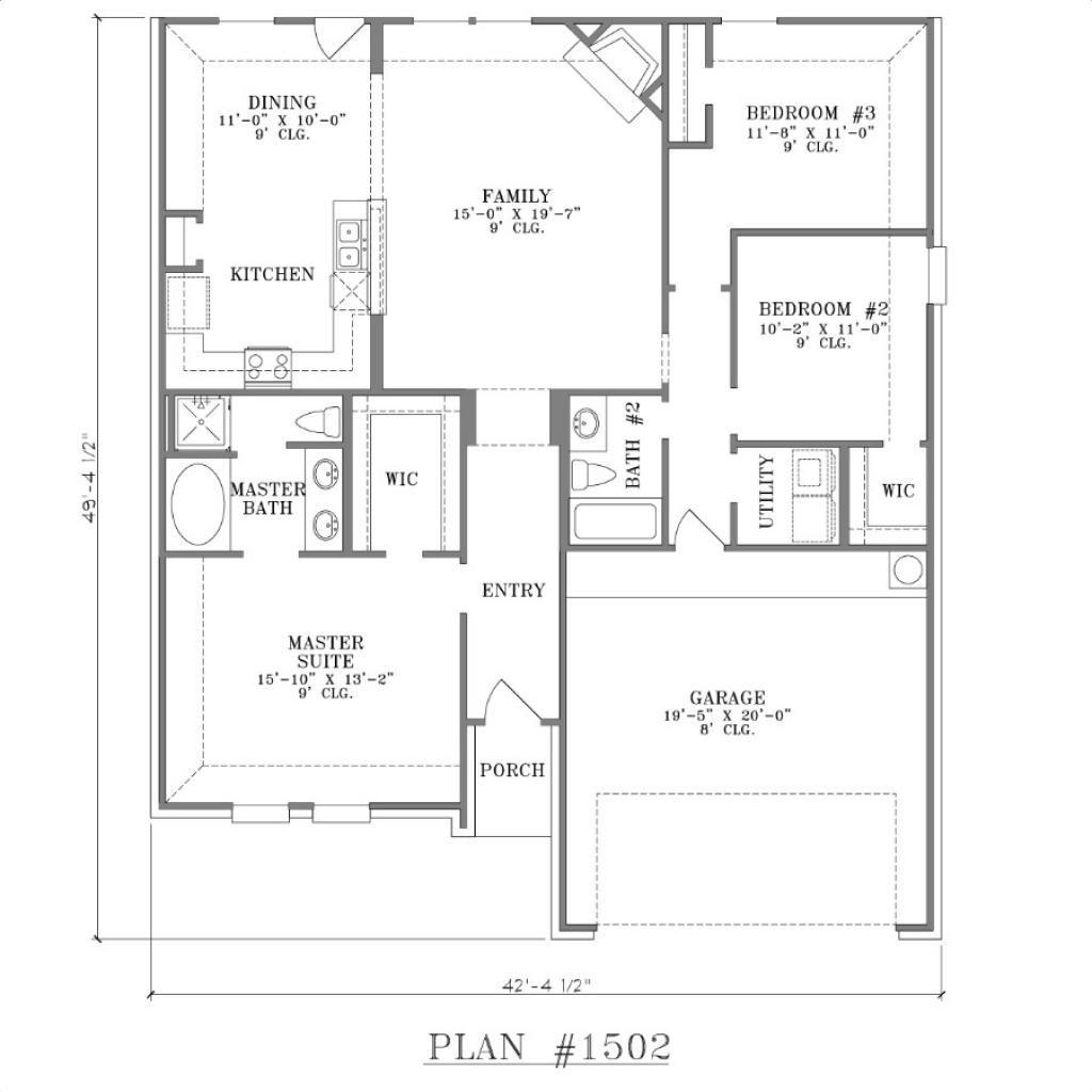 2 bedrooms 2 baths house plans Αναζήτηση Google Σχέδια