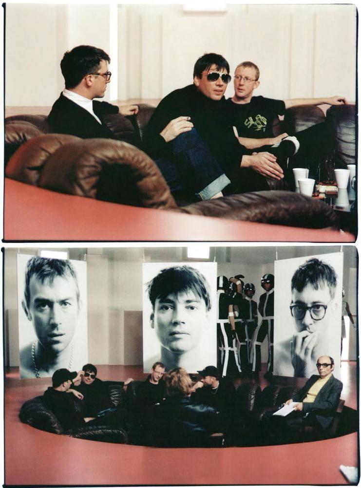 Gorillaz Blur Blur Band Damon Albarn Britpop