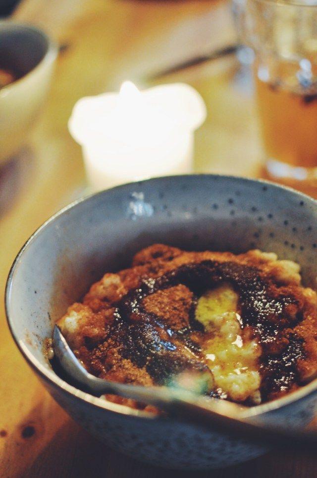 Try Danish Christmas porridge   Risengrød from Grød in Copenhagen    Oregon Girl Around the World