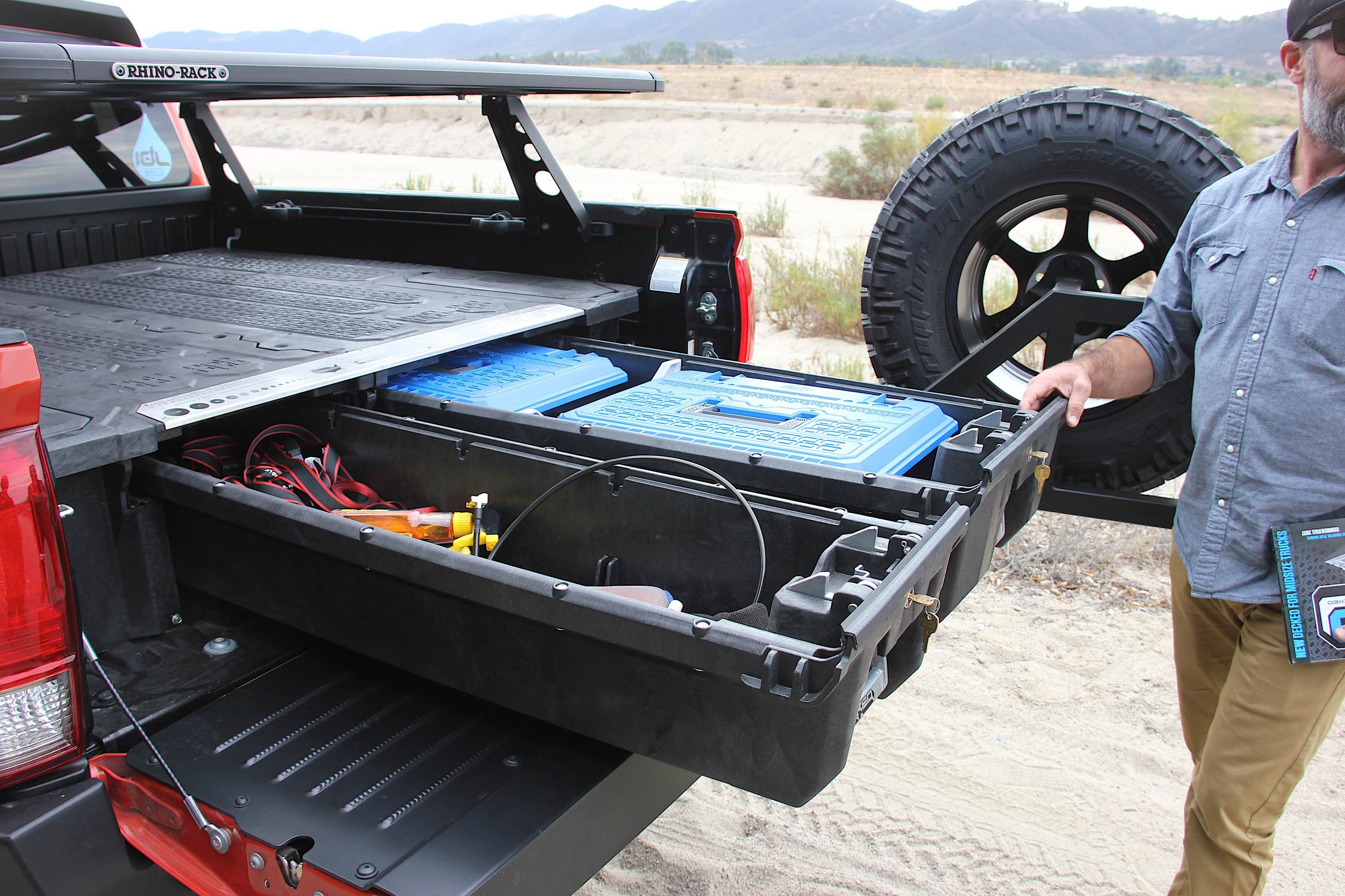 Decked Out Toyota With Decked InBed Storage