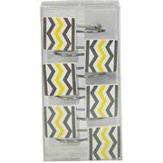 Chevron Shower Curtain Hooks:)