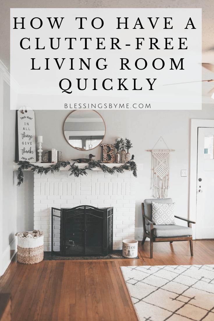 How to Have a Clutter-Free Living Room Quickly ...