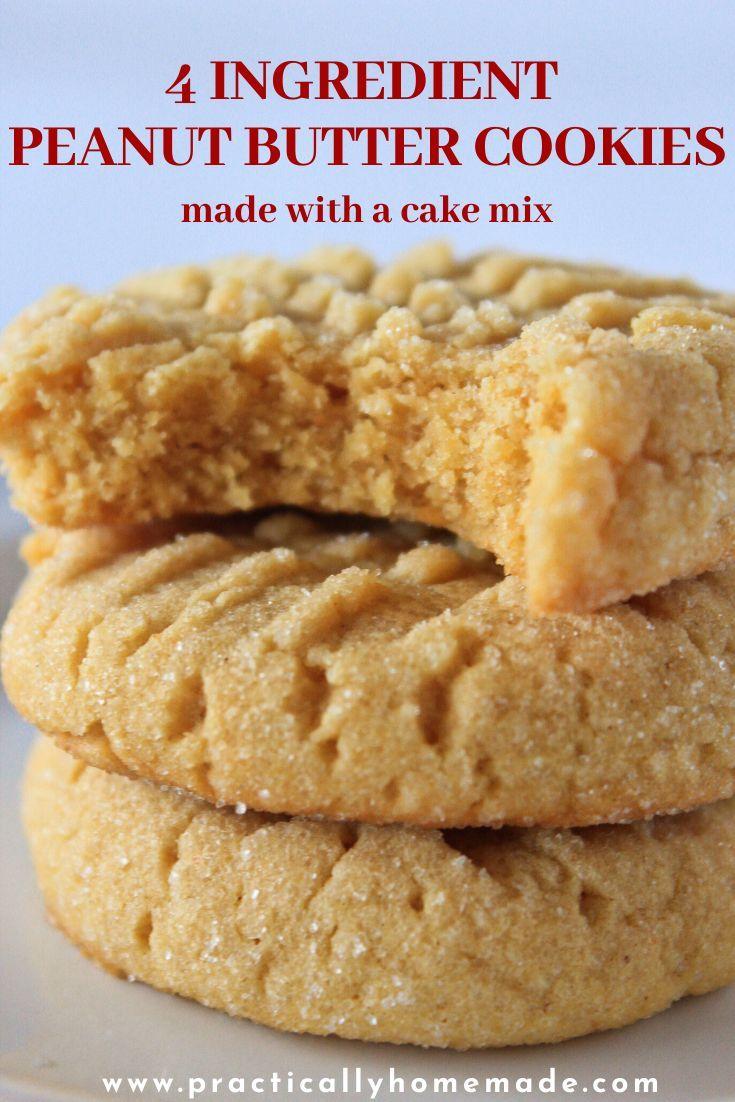 50+ Cake mix peanut butter cookies recipe inspirations