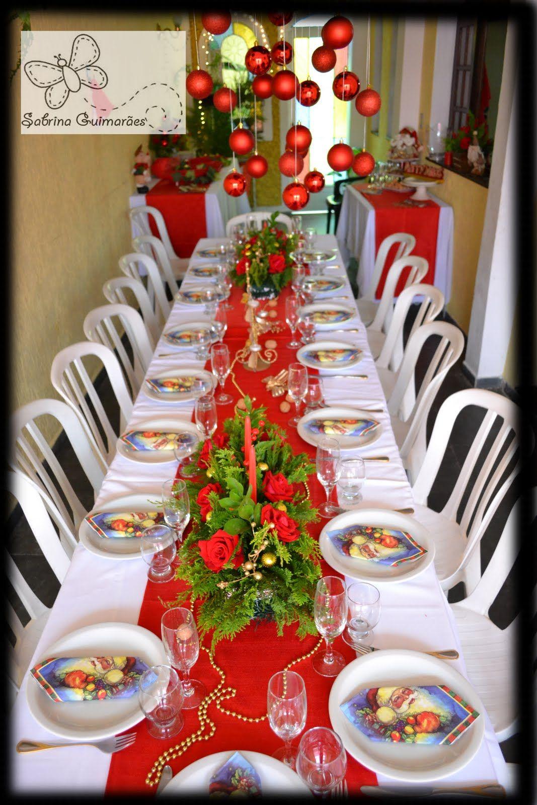 1 jpg 1067 1600 experi ncia a mesa pinterest natal for Decoracion de navidad barata