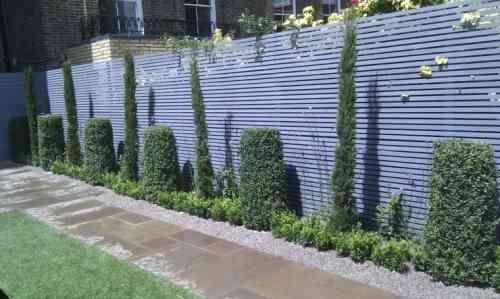 Clôtures et palissades de jardin modernes