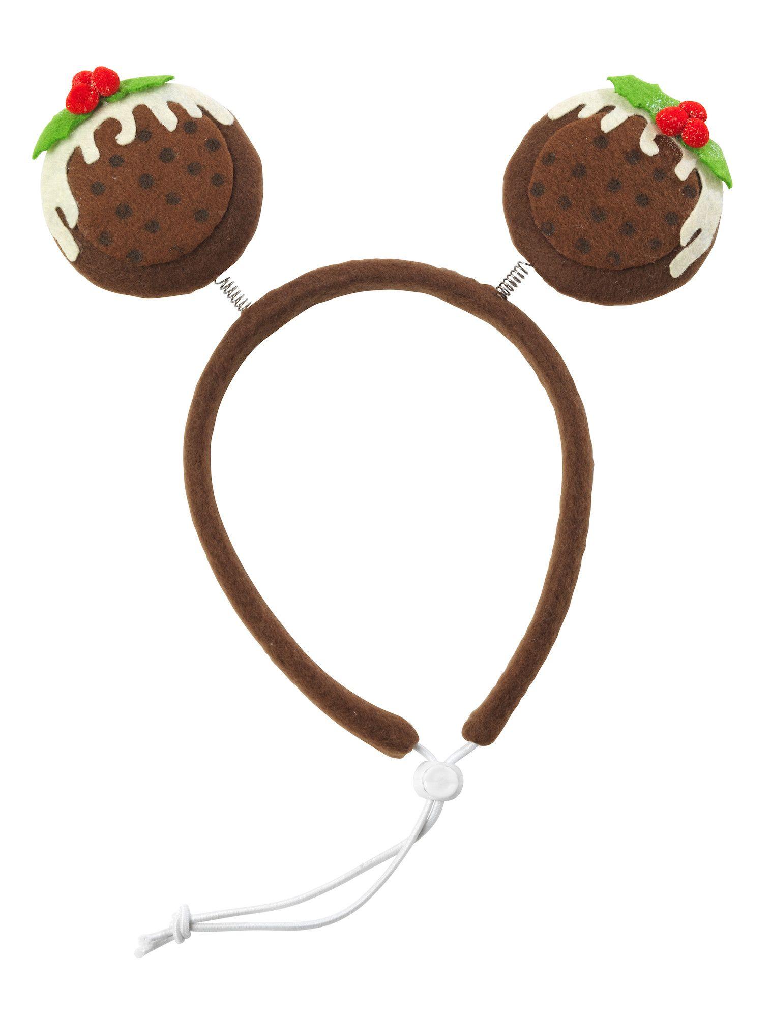 House Of Paws Christmas Pudding Headband For Dogs Christmas