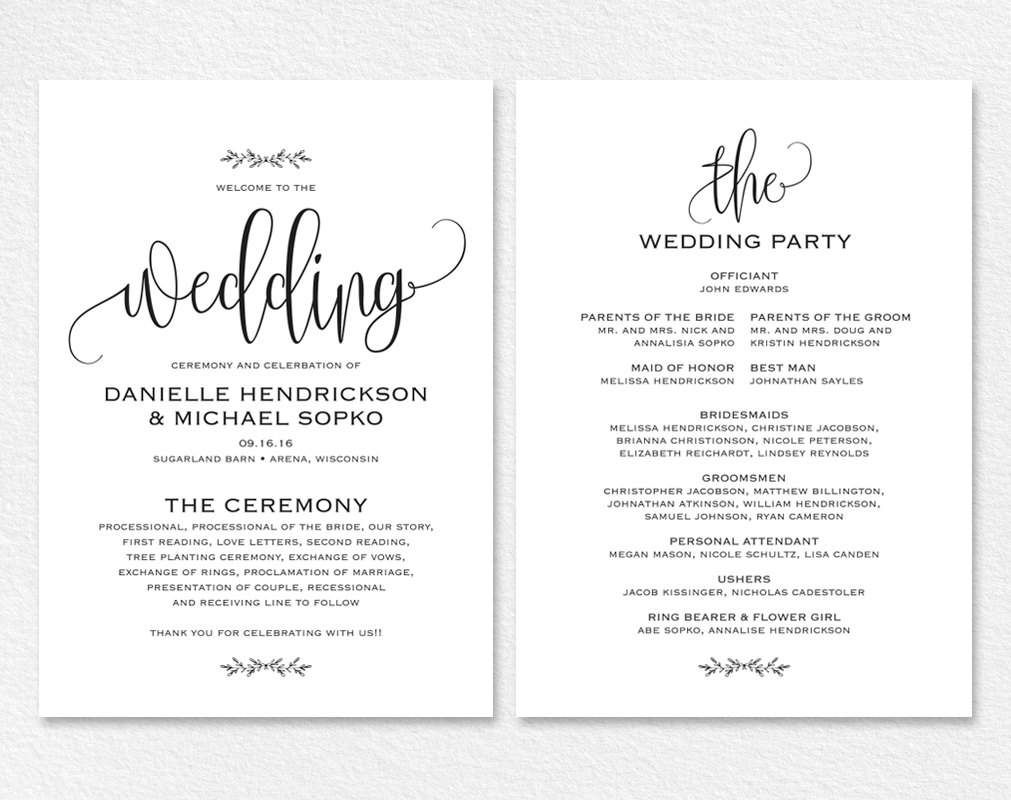 wedding card templates free