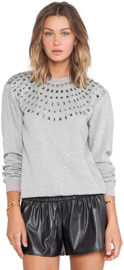 HEMANT AND NANDITA HEMANT AND NANDITA Crystal Sweatshirt on
