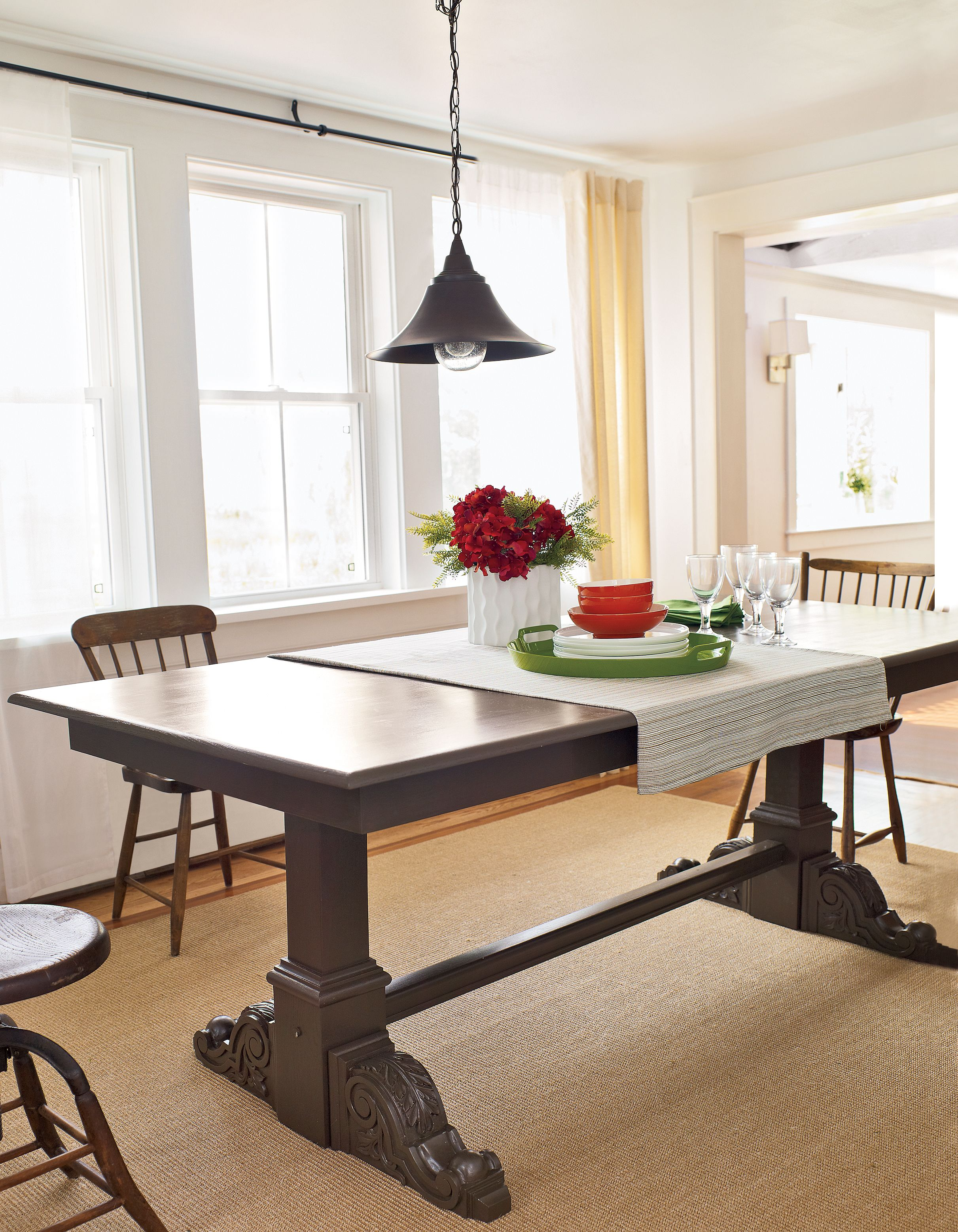 How To Make A Trestle Table Build A Table Trestle Table Table