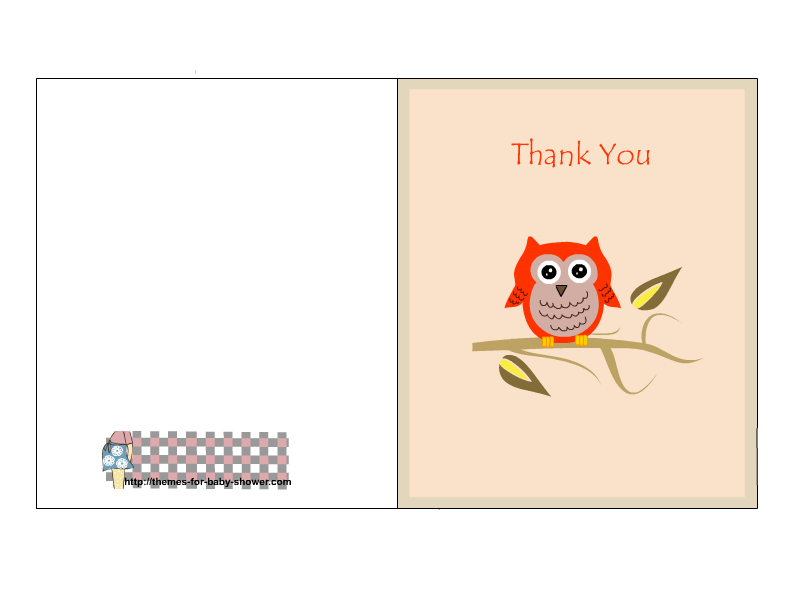 thank you printable cards this is a cute free printable thank you