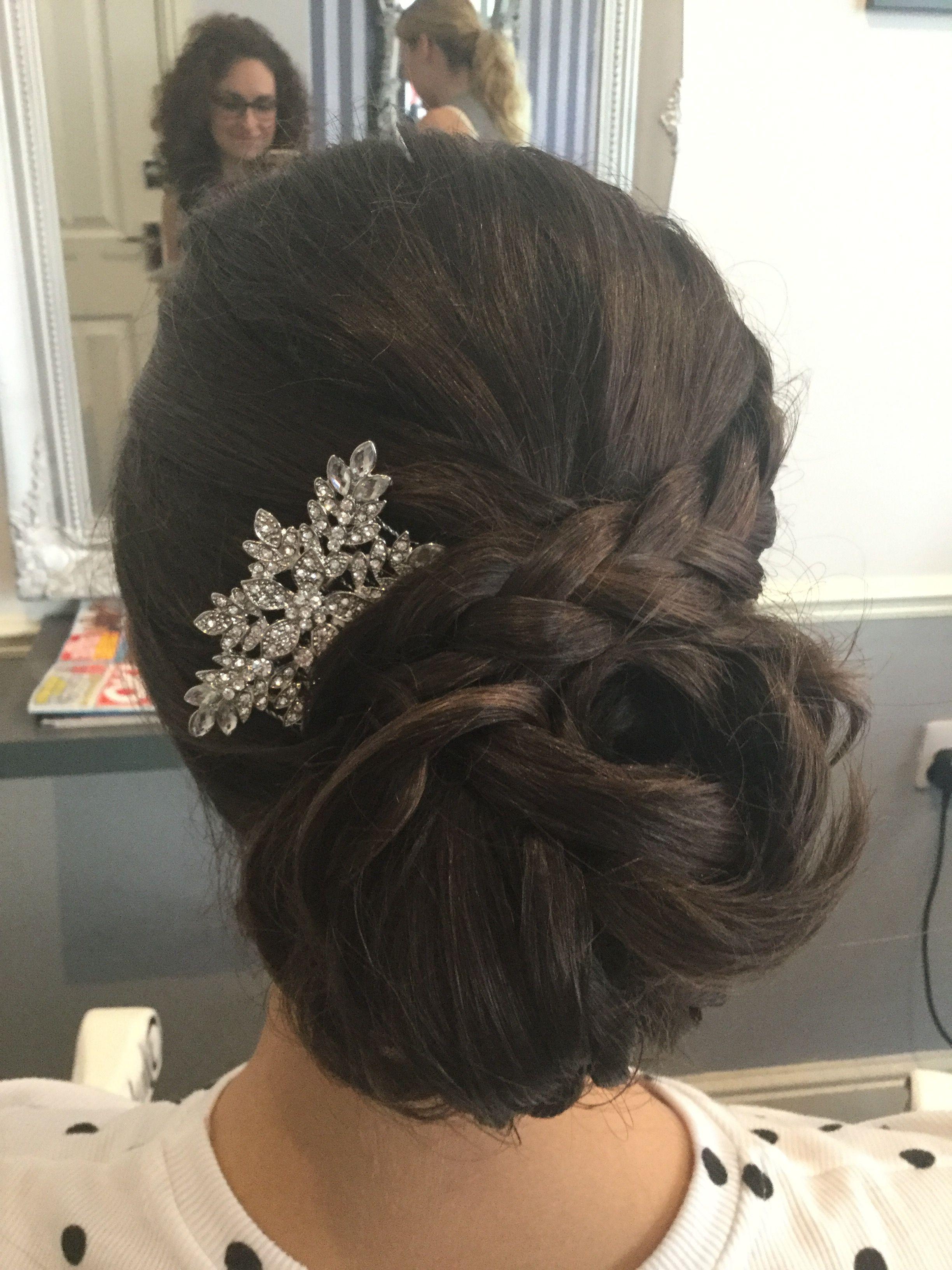bridesmaid hair by lauren @ edgingtons worcester   wedding