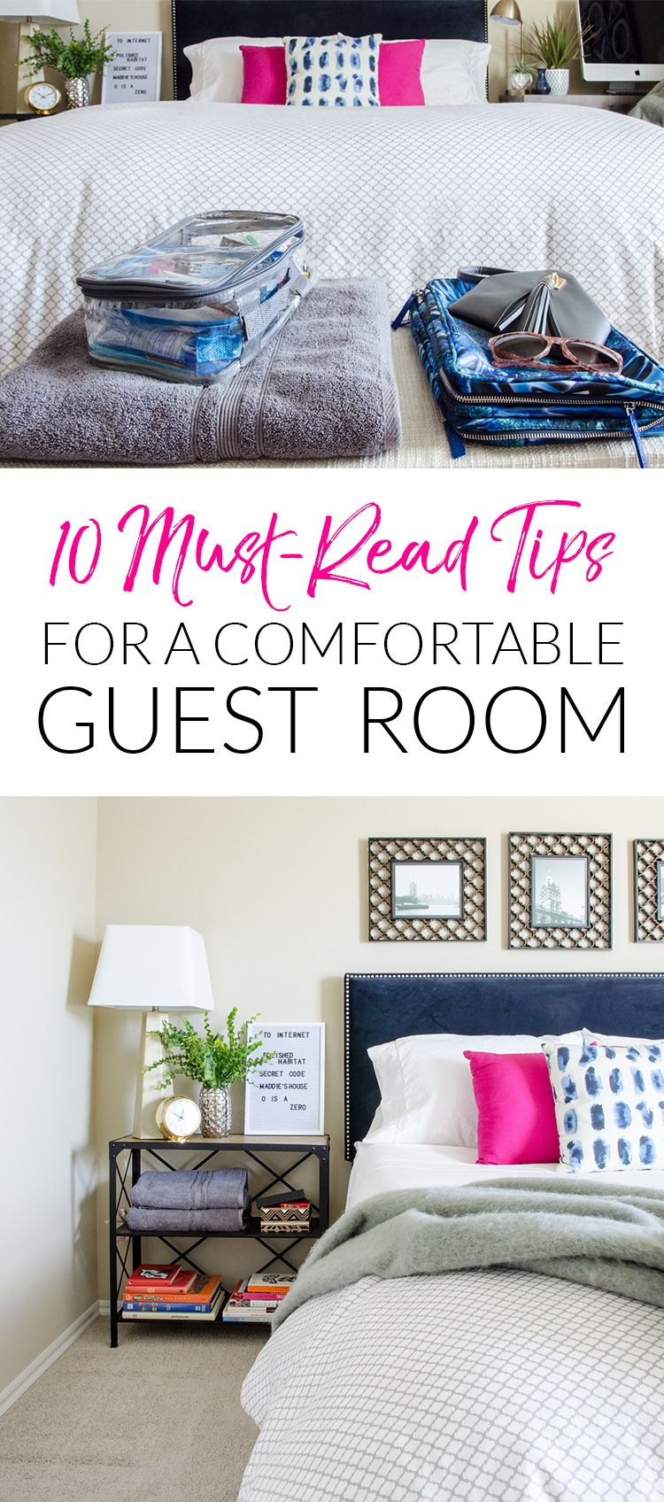10 Quick Ways to Make Overnight Guests More Comfortable | Big, Room ...