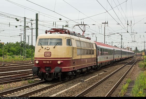 Photo 103 113 Deutsche Bahn AG 103 at