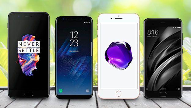 ¿Cuál es el mejor móvil de 2017? Comparativa del OnePlus 5 vs Samsung Galaxy S8+ vs iPhone 7 Plus vs Xiaomi Mi 6: analizamos lo mejor y peor de cada móvil.