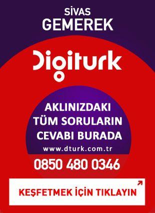 Digiturk Gemerek - Servis Satış Noktası - 0346 Sivas