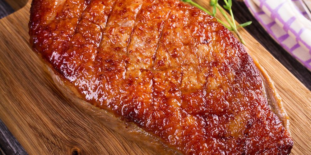 Magrets de canard au four recette avec du poulet - Temps de cuisson magret de canard au four ...